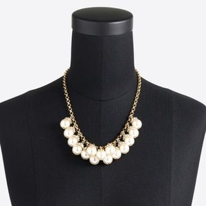 J.CREW Pearl Gold Tone Necklace